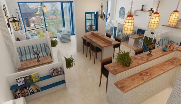清远地中海风格酒吧软装设计案例